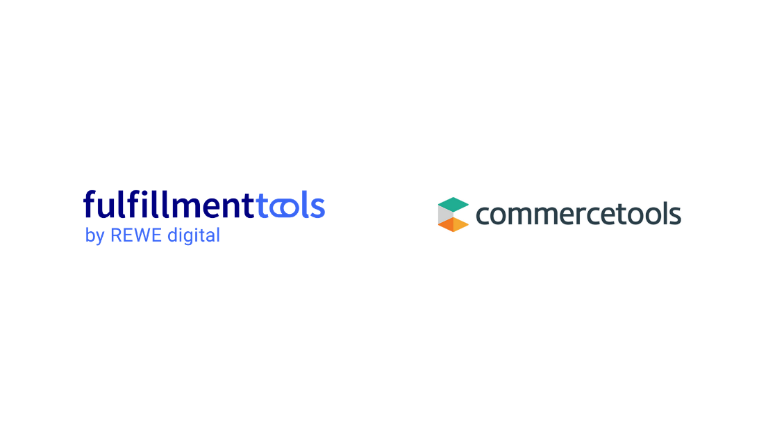 Logos von commercetools und fulfillmenttools